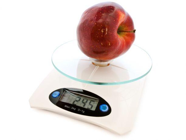 BLE-menetelmän avulla laihduttamiseen kuuluu tarkka ruuan punnitseminen.