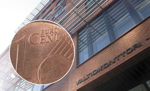 Suomen valtio saa joka kuukausi samalta henkilöltä yhden sentin.