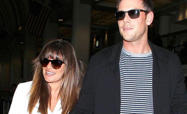 Cory Monteith seurusteli Glee-vastanäyttelijänsä Lea Michelen kanssa.