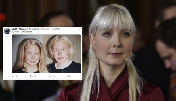 Laura Huhtasaari on ollut