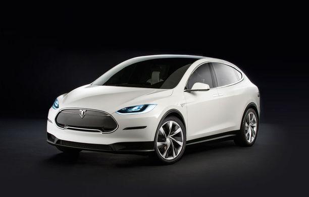 Tesla Model X on nykyisiä Model S:iä korkeampi.