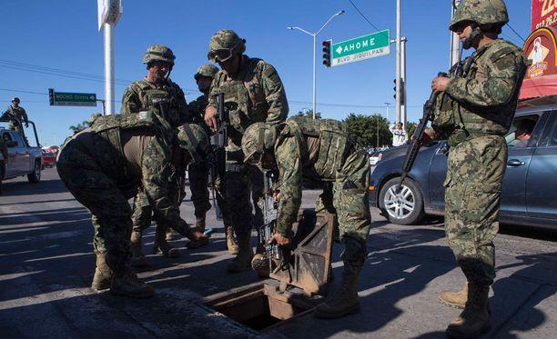 Guzman asevarastoineen saatiin talteen perjantaina 8.1.