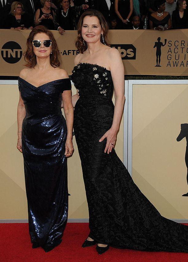 Susan Sarandon ja Geena Davis