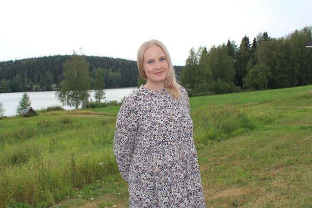 Eveliina Mäntykangas uskoo, että Matti-isä olisi ylpeä tyttärestään ja näytelmästä.