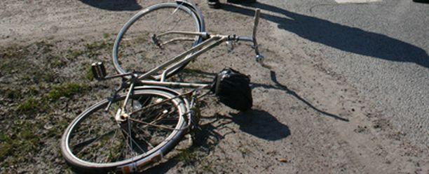 Polkupyöräilu ei ole riskitöntä touhua.