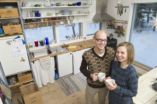 EKOLOGISTA Emma Viljanen-Laurmaan perheessä ei käytetä edes teflonpannua.