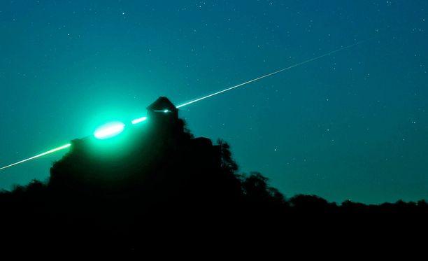 Kyproslaiset näkivät taivaalla todennäköisesti meteorin. Arkistokuva.