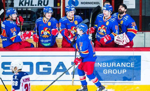 Jokereiden KHL-kausi käynnistyy 5. syyskuuta.
