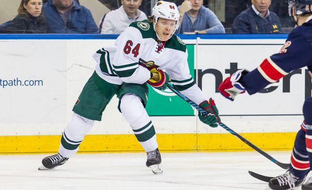 Minnesotan Mikael Granlund on pysäyttämättömässä vireessä.