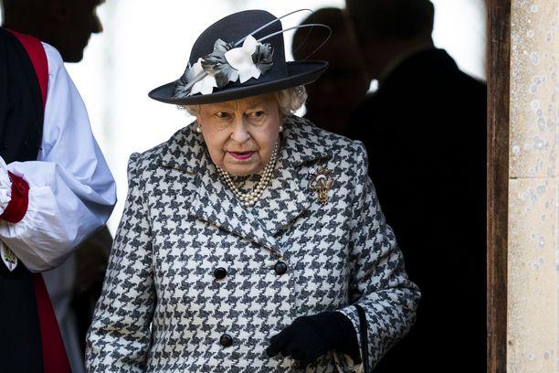 Kuningatar Elisabet II sai rokotuksen jo tammikuussa.