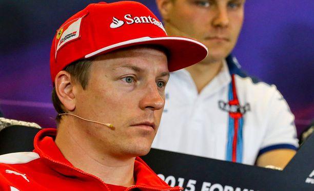 Kimi Räikkönen tylytti Valtteri Bottasta kolarista.