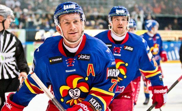 Antti-Jussi Niemi loi pitkän uran Jokereissa.