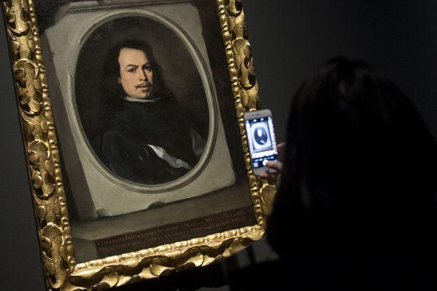 Bartolomé Esteban Murillon omakuva oli esillä Lontoon National Galleryssä.