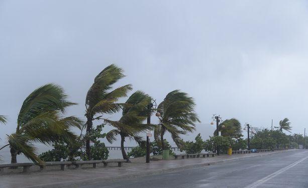 Irman keskituulen nopeus on ollut 70-82 metriä sekunnissa.