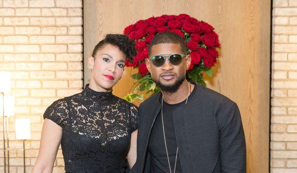 Grace Miguel ja Usher seurustelivat vuodesta 2009 alkaen.