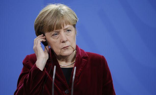 Saksan liittokansleri Angela Merkelin uudenvuodenpuhe käsitteli myös Ukrainan tilannetta.