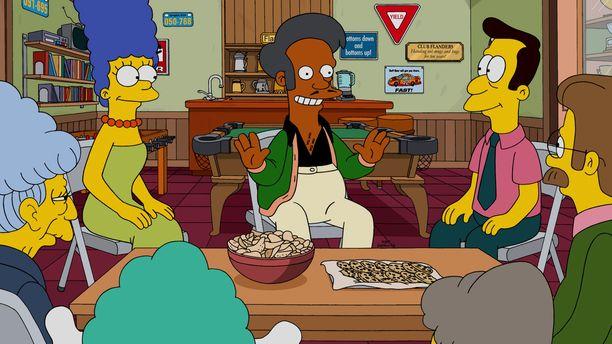 Apu pitää Springfieldissä Kwik-E-Mart-nimistä kauppaa.