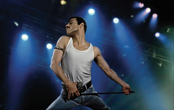 Rami Malek esitti Freddie Mercurya Bohemian Rhapsody -elokuvassa.