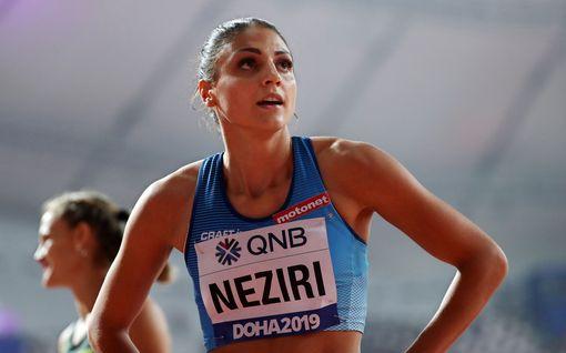 """Nooralotta Neziri juoksi Berliinissä toiseksi – tavoittelee SE:tä: """"Haluaisin juosta alle 7,95:n"""""""