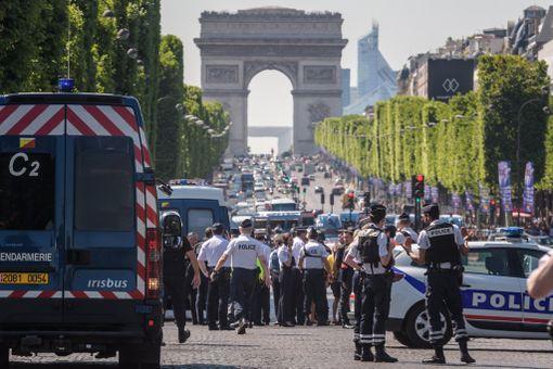 Hyökkäys oli viranomaisten mukaan tarkoituksellinen isku poliiseja vastaan.