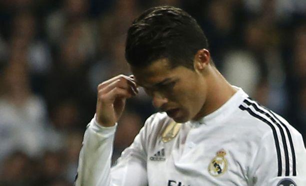 Cristiano Ronaldo ei turhia höpötellyt Schalke-pelin jälkeen.