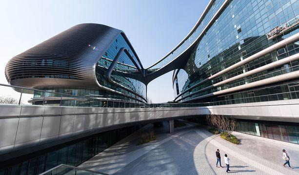 Lingkong SOHO, Shanghai, Kiina.
