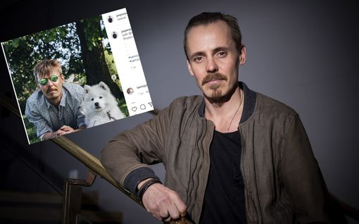 Jasper Pääkkösen samojedinpentu Taiga ihastuttaa somessa – kiinnostui oitis isäntänsä kalastussaappaista