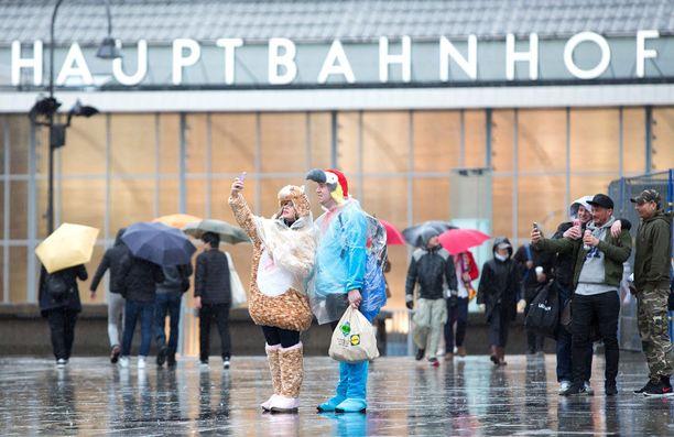 Viime viikolla Kölnissä järjestettiin laskiaiskarnevaali.