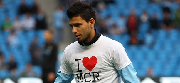 Sergio Aguero on Manchesterin uusi lempilapsi.