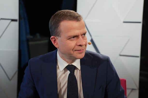 Petteri Orpo Ylen vaalikeskustelussa maaliskuussa 2019.