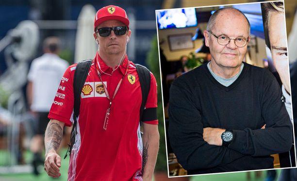 Erkki Mustakari tutustui Kimi Räikköseen vuonna 2001, kun tämä nousi vain 21-vuotiaana F1-sarjaan Sauber-tallin kisakuljettajana.