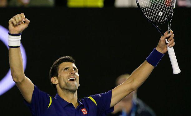 Novak Djokovic on nyt voittanut Australian avoimet kuudesti.