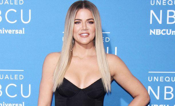 Khloe Kardashian kesällä 2017.