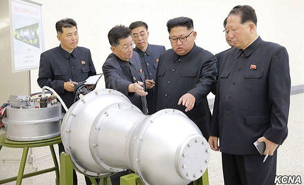 Pohjois-Korea ilmoitti sunnuntaina testanneensa vetypommia.