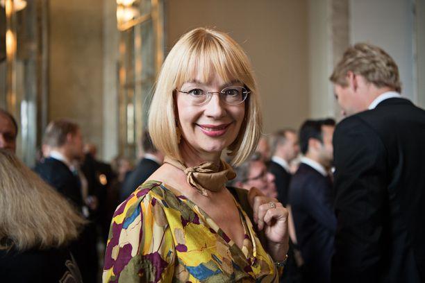 Omistajaohjausministeri Tytti Tuppurainen (sd). Arkistokuva keväältä 2017.
