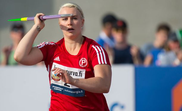 Sanni Utriainen jäi Kalevan kisoissa neljänneksi.