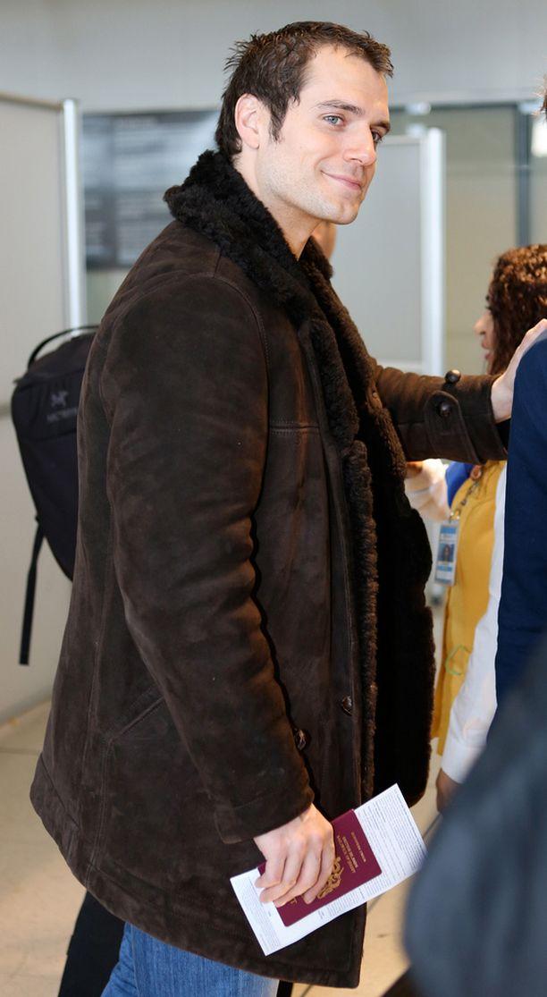 Henry bongattiin viime viikolla Kanadassa lentokentällä.