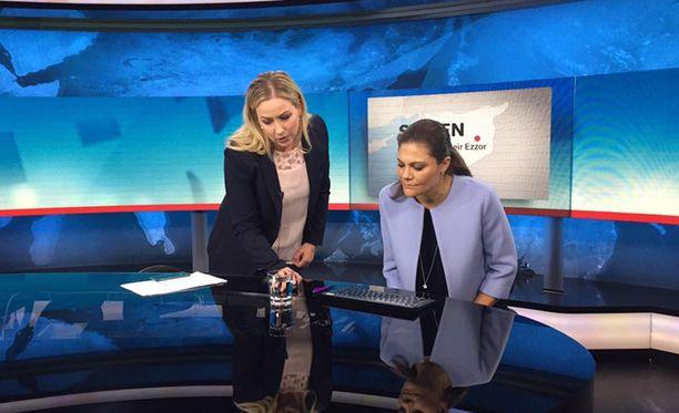 Victorialle esiteltiin SVT:n toimintaa.