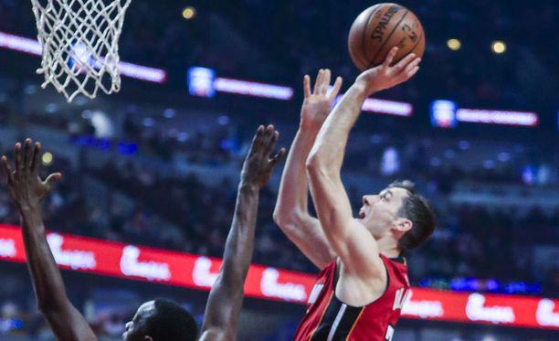 Goran Dragic oli tehokkaalla päällä Heatin voitossa.