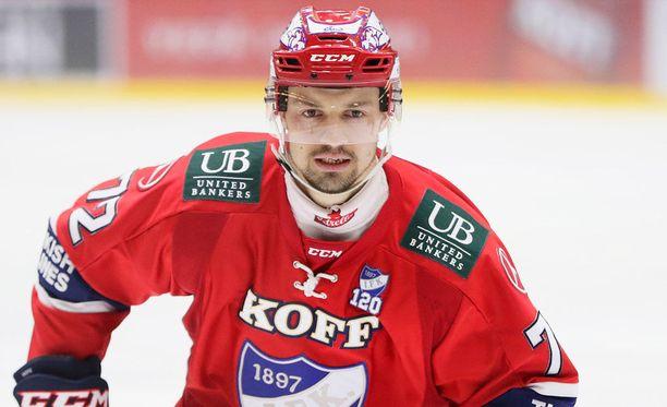Patrik Carlsson ei jatka HIFK:ssa ensi kaudella.