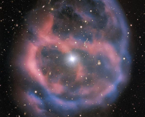 """ESO:n mukaan kuolevan tähden hohto kestää vain """"hetken"""", noin 10 000 vuotta."""