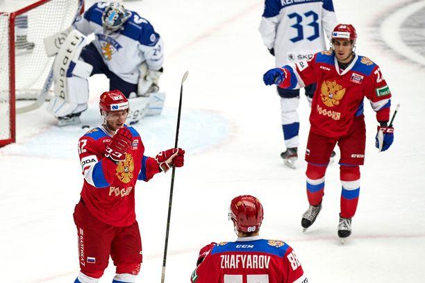 Venäjä sai tuulettaa Malmössä, kun Leijonat taipui maalein 2–3.