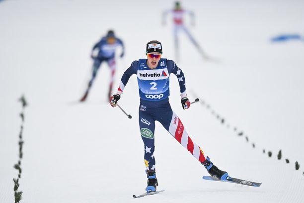 Jessie Diggins on pariviestin MM- ja olympiavoittaja, nyt myös Tour de Skin ykkönen.