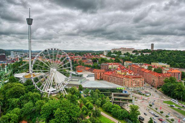 Lisebergin huvipuisto on Göteborgin suosituimpia käyntikohteita.