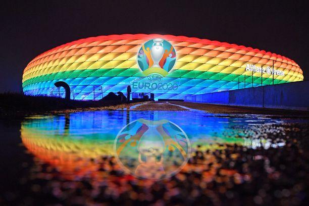 Uefa kielsi tämän valaistuksen.