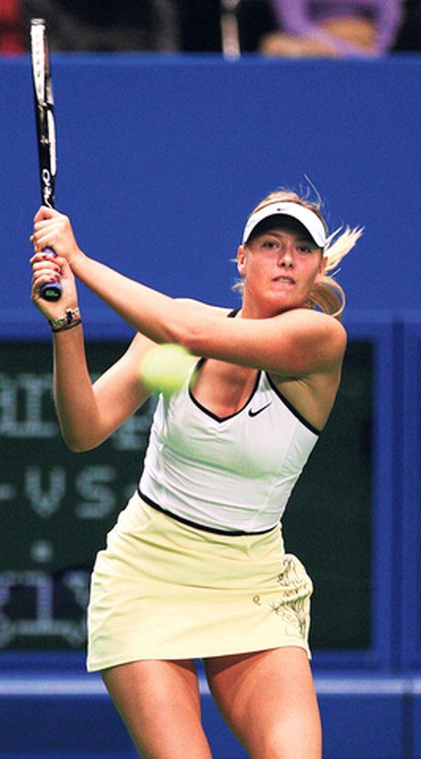 Maria Sharapova tunnetaan kovasta tahdon-voimastaan.