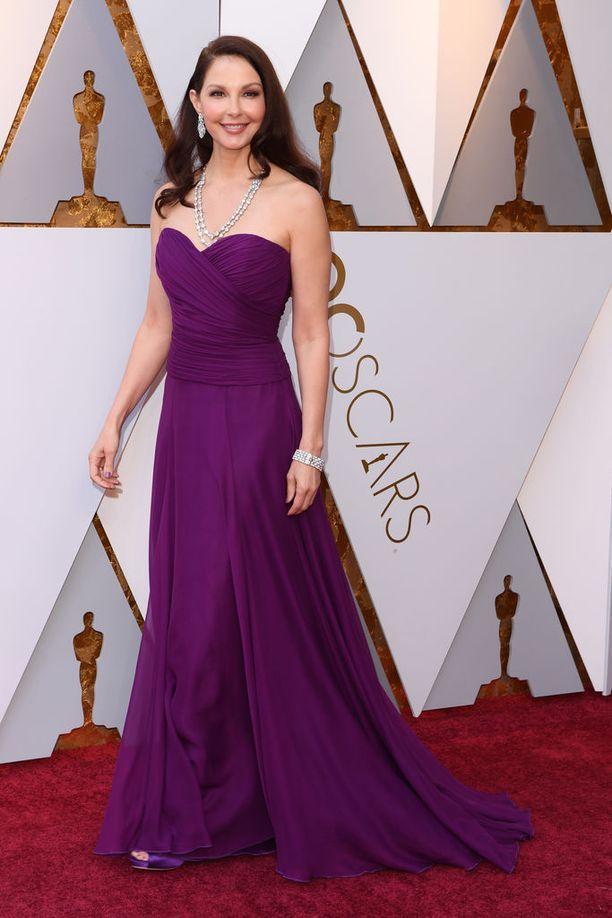 Harvey Weinstein ahdisteli Ashley Juddia. Judd kertoi ABC:lle kokemuksistaan syksyllä 2017.