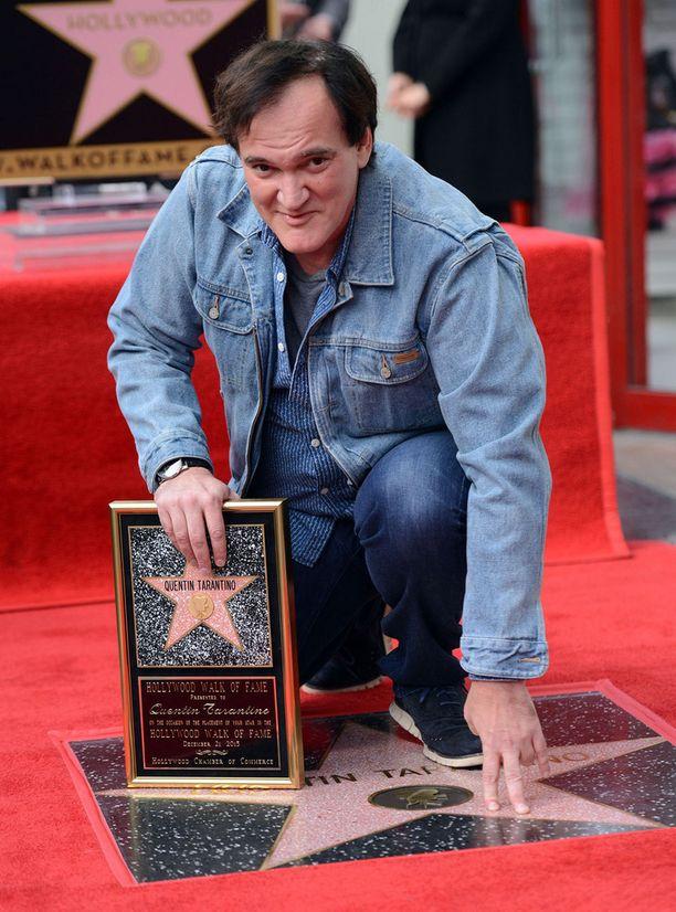 Quentin Tarantinon nimi koristaa nyt suositun kävelykadun uutta tähteä.