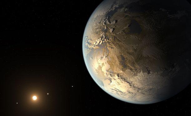 Maan lähintä tähteä Proxima Centauria kiertää planeetta Proxima b, jonka lämpötila on sellainen, että siellä saattaisi olla vettä.