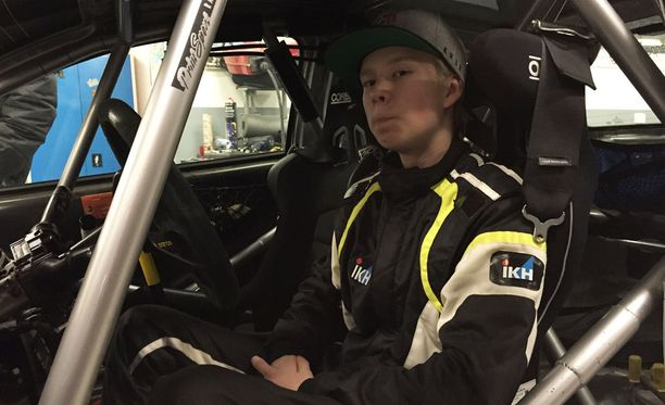 Kalle Rovanperä - kuin syntynyt ratin taakse.